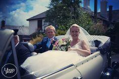 Bride and groom, Devon Farm wedding