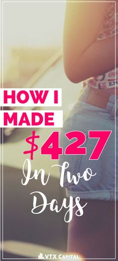 In this post, I'm going to break down for you exactly how I pulled in $427 with…