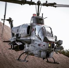 The cold stare of a USMC Bell AH-1W SuperCobra...