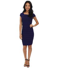 Jessica Simpson Fitted Rib Knit Dress JS5C7125
