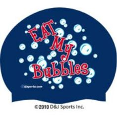 Eat My Bubbles Silicone Swim Cap I Love Swimming, Swimming Gear, Swimming Diving, Swim Camp, Swim Swim, Professional Swimming, Swimming Equipment, Swimmer Problems, Olympic Swimmers