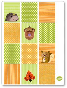New product: Autumn Girl Full ...! Get it here: http://www.plannerpenny.com/products/autumn-girl-full-boxes-planner-stickers