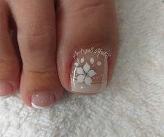 Cute Toe Nails, Cute Toes, Long Acrylic Nails, Toe Nail Designs, Blue Nails, Nail Care, Hair Beauty, Lily, Make Up