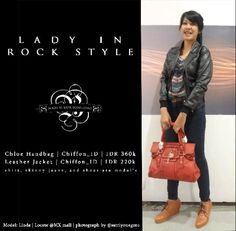 Lady in Rock Style