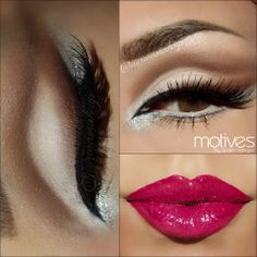 We are in love with this STUNNING look by Aurora_Amor por el maquillaje using Motives cosmetics! What do you think of it? Get the look! http://motives.shoppingjinx.com