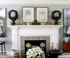 10 Inspiring Spring Mantels | DIY Ideas | Pinterest | Mantels, Spring And  Mantel Ideas