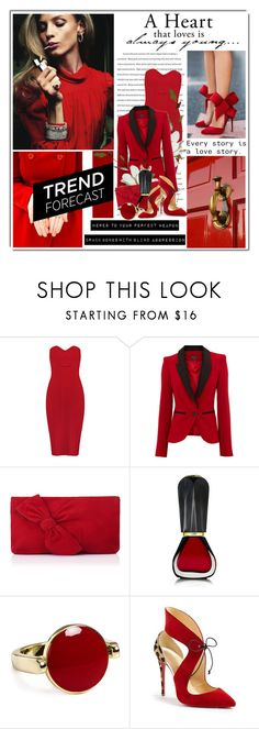"""""""Here's To Your Perfect Weapon"""" by queenrachietemplateaddict ❤ liked on Polyvore featuring Burberry, Warehouse, L.K.Bennett, Oribe, Aqua and Christian Louboutin"""