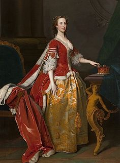 1743 Lady Anne Campbell, Countess of Strafford by Allan Ramsay