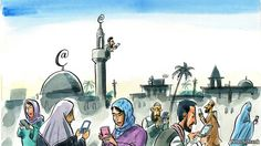 Islam and technology: The online ummah   The Economist