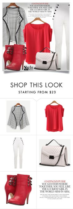 """""""SheIn #2"""" by almedina-86 ❤ liked on Polyvore featuring Tommy Hilfiger, Michael Antonio, Kate Spade and shein"""