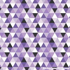 Seamless pattern with textured purple triangles. Also available as large background 1680 x 1050 pixels.