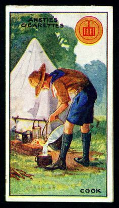 Cigarette Card - Scout Series #19 | Flickr - Photo Sharing!