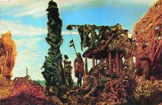 Europe After the Rain by Max Ernst (1940-42,