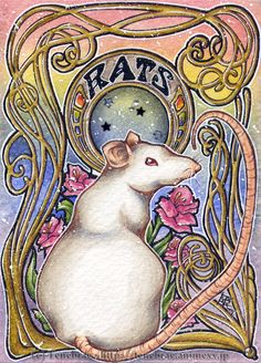 ACEO: RatS by 1000Dreams