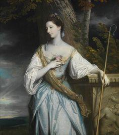 1764 Anne Dashwood (1743–1830), Later Countess of Galloway by Sir Joshua Reynolds (Metropolitan Museum of Art - New York City, New York USA) | Grand Ladies | gogm