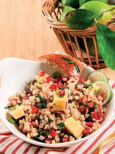 Buğday salatası Tarifi - Diyet Yemekleri Yemekleri - Yemek Tarifleri