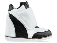 Jeffrey Campbell Teramo in Black Ivory at Solestruck.com