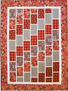 Free Quilt Patterns For Beginners | Red Brick Road Quilt Kit / Quilter's Market, Quilting Gallery
