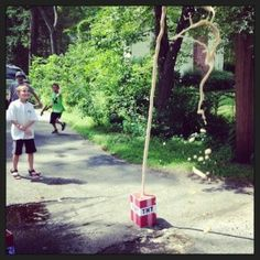 Coke and Mentos is a popular game with kids, so why not make it resemble TNT?
