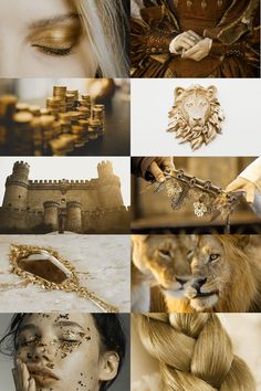 Golden lions, game of thrones art, game of thrones houses, got dragons, cer Gold Aesthetic, Witch Aesthetic, Aesthetic Images, Aesthetic Collage, Character Aesthetic, Aesthetic Wallpapers, Apollo Aesthetic, Game Of Thrones Houses, Game Of Thrones Art