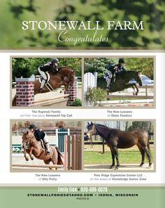 Stonewall Farm Congratulates  Emily Elek (920) 889-0028