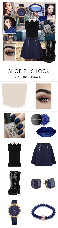 """""""Great Escape"""" by eliskaozanikova ❤ liked on Polyvore featuring OPI, Tommy Hilfiger, Kate Spade, Mondaine and Gideon John"""