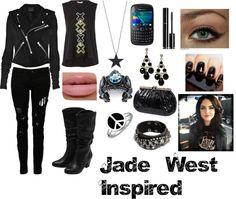 """""""Inspiration: Jade West"""" by blazestarzz ❤ liked on Polyvore"""