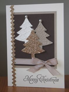 By Rachel Woollard. By Rachel Woollard. Homemade Christmas Cards, Christmas Cards To Make, Homemade Cards, Handmade Christmas, Holiday Cards, Christmas Diy, Christmas Decorations, Merry Christmas, Winter Cards