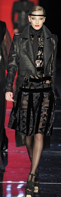 ✜ Jean Paul Gaultier Winter 2012 Paris