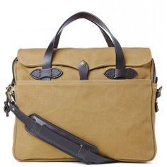 Filson original briefcase tan  www.beaubags.nl