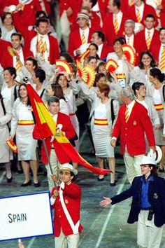 Sidney 2000  La verdad de las fotos del uniforme del equipo olimpico espanol