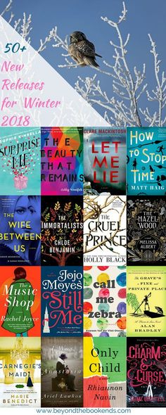 Looking for a good book? Check out this list of January to March 2018 new releases. Plenty Of must-reads to add to your collection!