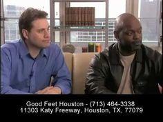 \n        Plantar Fasciitis Relief - Foot Pain Heel Pain Arch Pain Back Pain Relief - Good Feet Houston\n      - YouTube\n