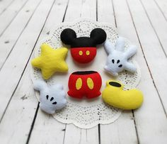 Birthday Decor Mickey Mouse Disney Party Favors Baby Shower Decorations Felt Clubhouse Candy Bar Decor Holiday Ornament Gift For Kids by BelkaUA on Etsy Lego Decorations, Disney Christmas Decorations, Lego Christmas, Mickey Mouse Christmas, Baby Shower Decorations, Etsy Christmas, Birthday Decorations, Christmas Tree, 1st Birthday Gifts