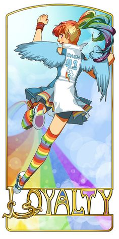 Rainbowdash IRL