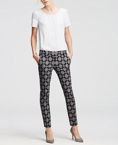 Image of Devin Mosaic Ankle Pants