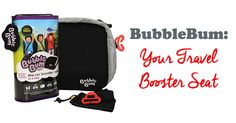 I recently received a BubbleBum, an inflatable booster seat meant for kids ages 4-11, 40-100 lbs. This booster seats deflates and rolls up into a tidy little bag, perfect for travel. When you need to use it, you can blow andinflate it into working order with only a few breaths. Place it on the …
