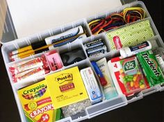 Back to School or pack a shoe box for Operation Christmas Child.