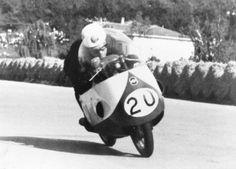 Gilera 500 Bob McIntyre Imola 1957