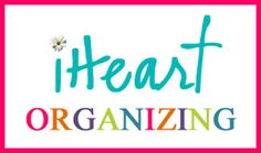 Best blog ever- organizing ideas.