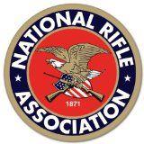 """NRA Guns rifles pistol car bumper sticker 4"""" x 4"""""""