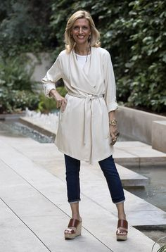 6e1bc078954 Looking Chic In Our Butter Duster Coat. Мода 50 ХРабочая ОдеждаЖенские ...