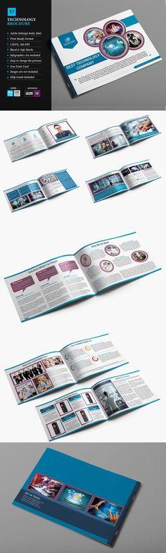 Technological Brochure   Brochures Brochure Template And