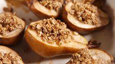 Cinnamon Baked Pears  - Delish.com