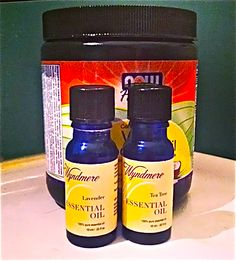 Best yeast infection treatment ever! Coconut oil, lavender, and tea tree essential oils