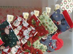 Calendari d'advent / Calendario adviento / Advent Calendar  Nadal / Christmas / Navidad