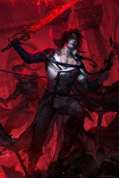A butcher Crowley by Sinto-risky dark elf drow undead dead vampire ghoul zombie fighter soldier monster armor clothes clothing fashion player character npc   Create your own roleplaying game material w/ RPG Bard: www.rpgbard.com   Writing inspiration for Dungeons and Dragons DND D&D Pathfinder PFRPG Warhammer 40k Star Wars Shadowrun Call of Cthulhu Lord of the Rings LoTR + d20 fantasy science fiction scifi horror design   Not Trusty Sword art: click artwork for source