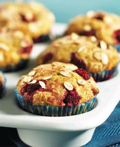 PIN SUCCESS. very good!!!! raspberry oatmeal muffins