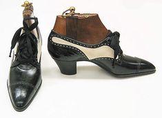 Pietro Yantorny shoes - 1914-1919 - Leather, silk - The Metropolitan Museum of Art