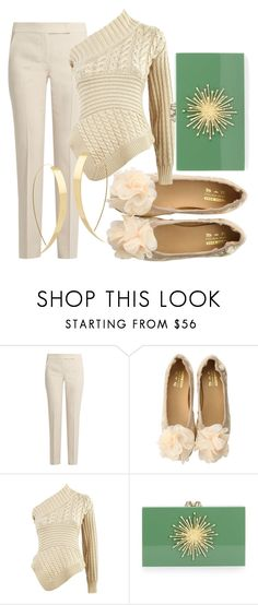 """""""Starburst Sanctuary"""" by fashionforwarded ❤ liked on Polyvore featuring MaxMara, Burberry, Charlotte Olympia and Lana"""